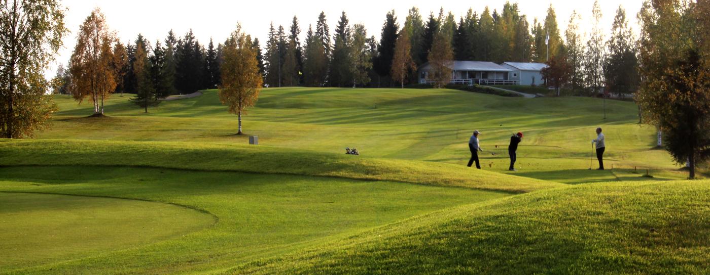 Tervetuloa <strong>Ahmon Golfkentälle</strong>