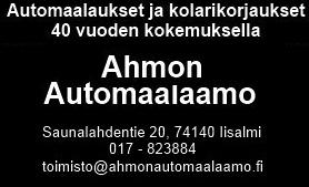 Ahmon automaalaamo
